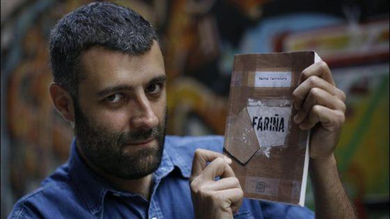 Nacho carretero autor del libro FARINA