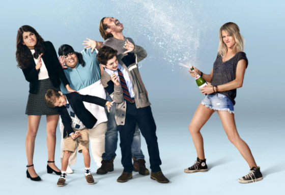 THE MICK: L-R: Sofia Black-D'Elia, Jack Stanton, Carla Jimenez, Thomas Barbusca, Scott MacArthur and Kaitlin Olson. A special premiere of THE MICK airs Sunday, Jan. 1 (8:00-8:30 PM ET/PT) on FOX. THE MICK makes its time period premiere with an all-new episode Tuesday, Jan. 3 (8:31-9:01 PM ET/PT on FOX. ©2016 Fox Broadcasting Co. CR: Pamela Littky/FOX