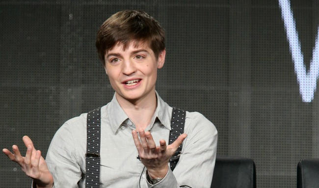 speaks onstage during the 'Man Seeking Woman' panel discussion at the FX Networks portion of the Television Critics Association press tour at Langham Hotel on January 18, 2015 in Pasadena, California.