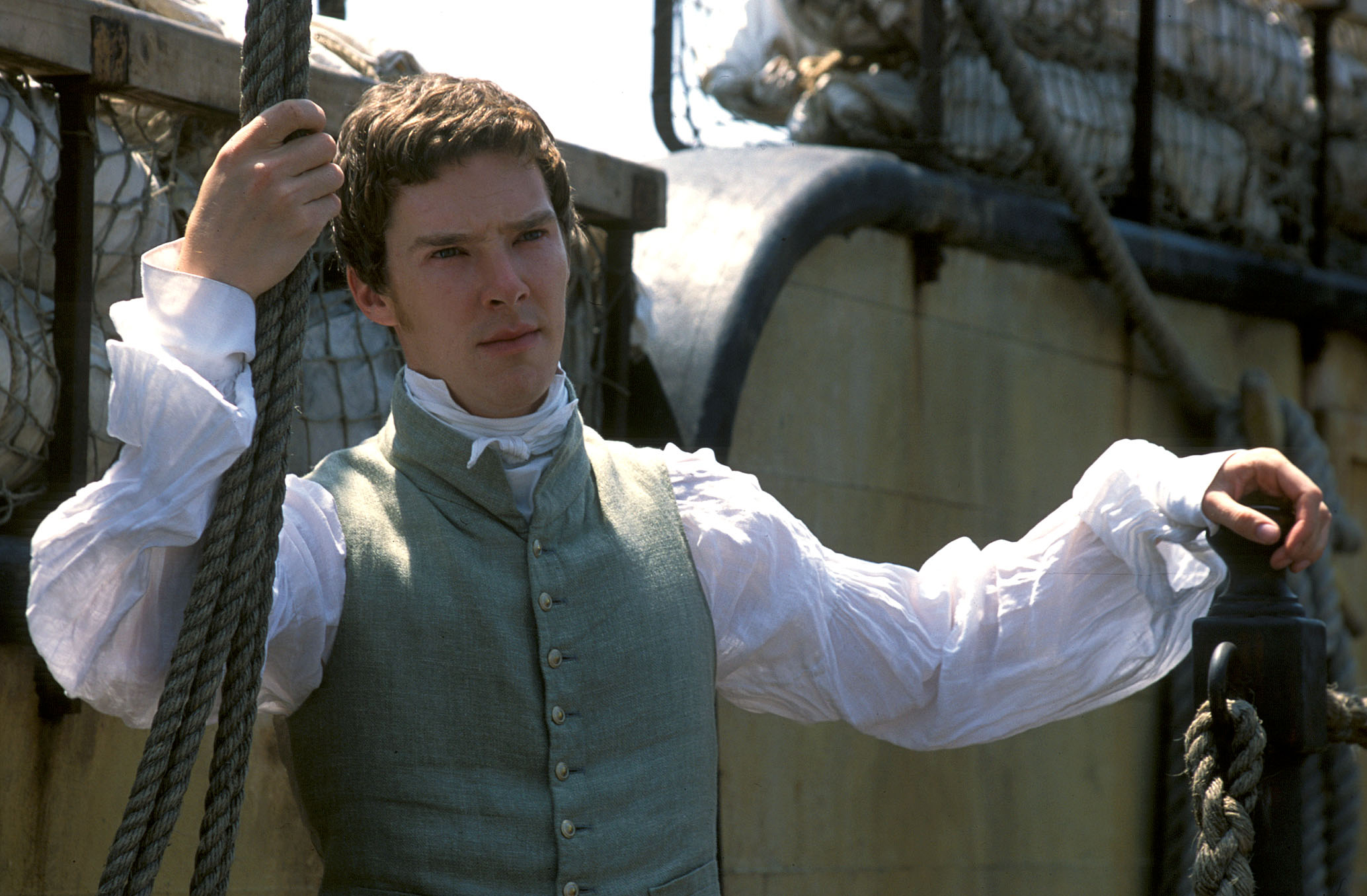 Masterpiece Theater: To the Ends of the Earth New PBS miniseries premiering Sunday. Benedict Cumberbatch as Edmund Talbot