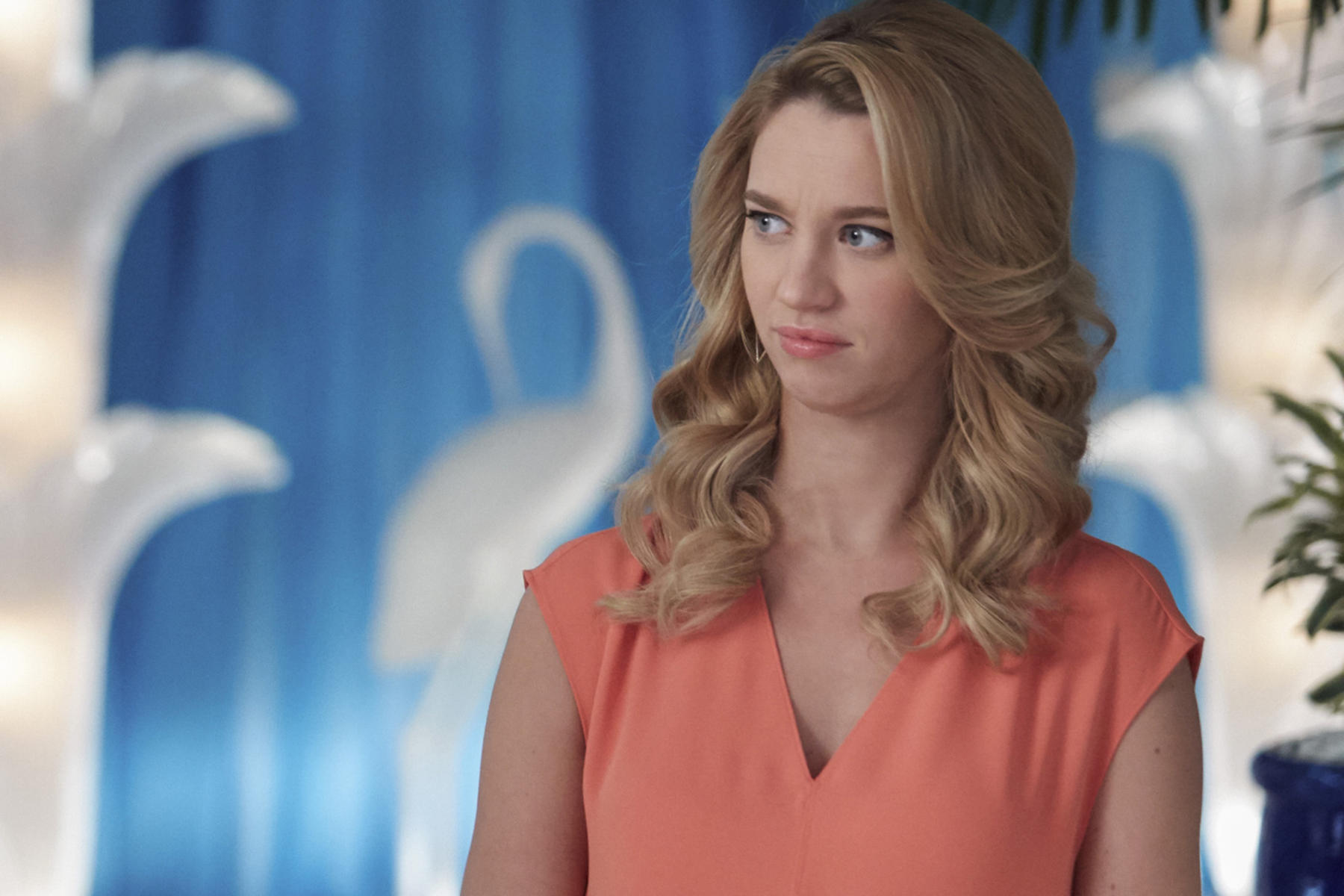 "Jane The Virgin -- ""Chapter Thirty-Three"" -- Image Number: JAV211b_0110.jpg -- Pictured: Yael Grobglas as Petra -- Photo: Tyler Golden/The CW -- © 2016 The CW Network, LLC. All rights reserved"