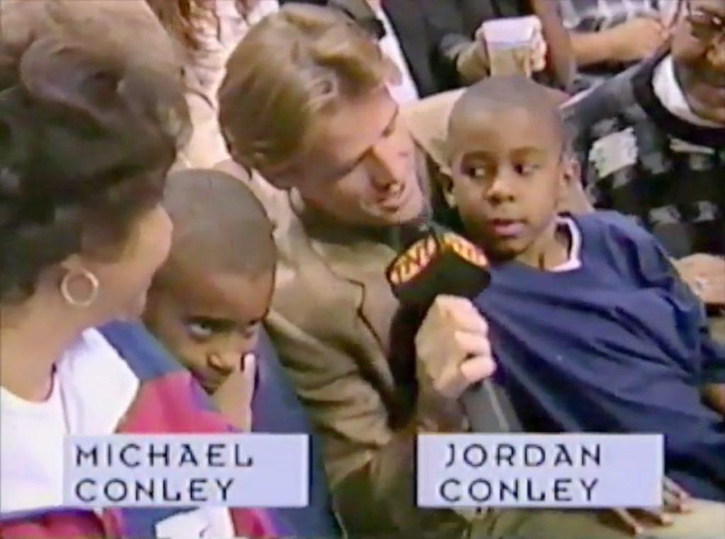 Michael Conley y Jordan Conley
