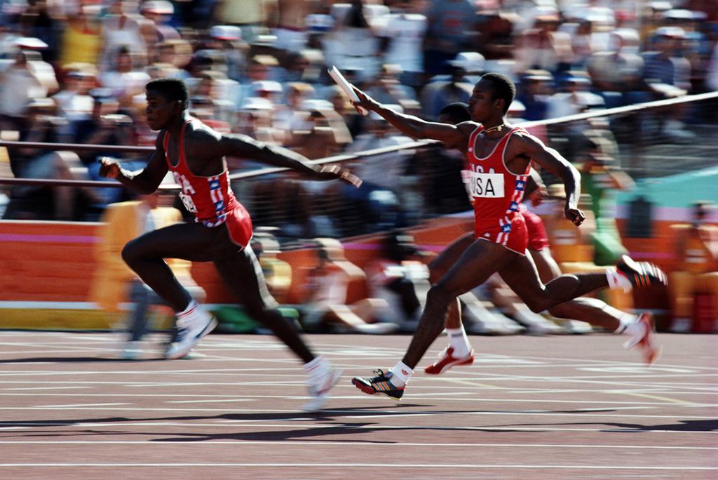 Lewis Smith Los Angeles 4x100