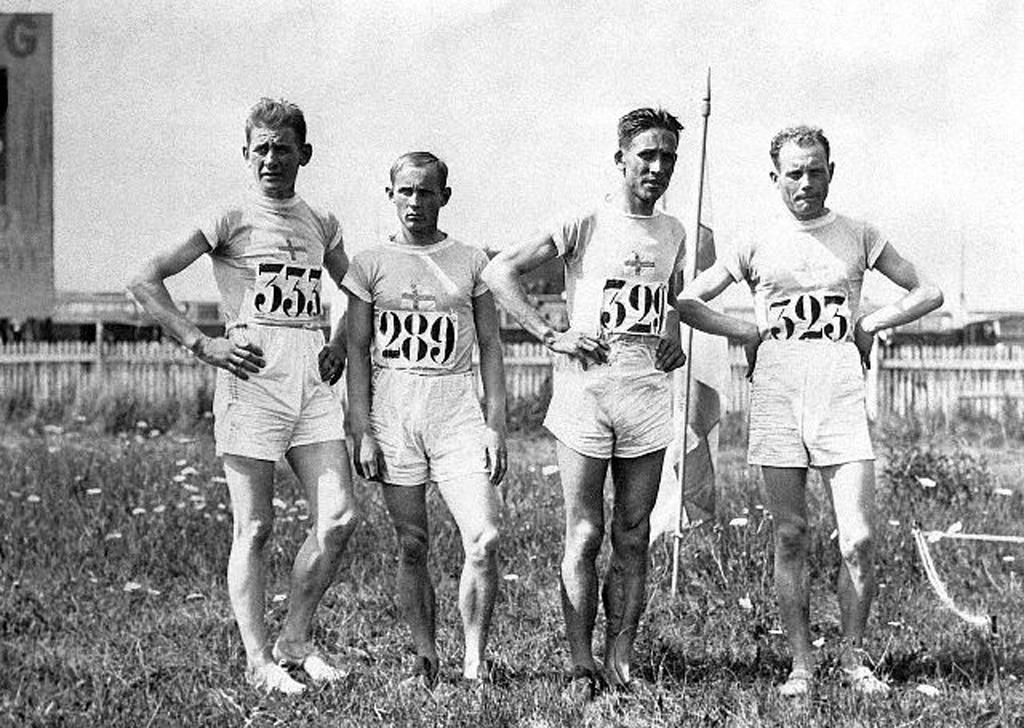Paavo Nurmi and Olympic Teammates
